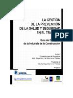 Banco Interamericano de Desarrollo (2005). Manual Para La Prevención de La Salud en La Pequeña y Mediana Empresa