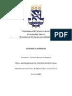 Anteprojeto Leandro Aragão - Arbitrabilidade Da Insolvência Empresarial (Final)