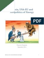 Russia, USA-EU and Geopolitics of Energy