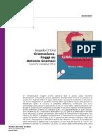 """Recensione a """"GRAMSCIANA. Saggi su Antonio Gramsci"""" di Angelo d'Orsi"""