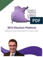 2014 PANB Platform