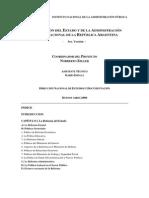 Organizacion Del Estado Argentino