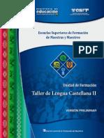 Taller Lengua Castellana II