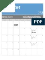 ah8 - sept  calendar 2014