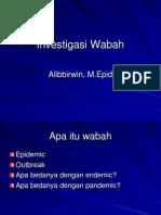Investigasi Wabah Gizi