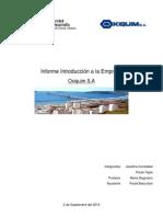 Informe Introducción a La Gestión Empresarial