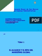 MKT INT - 001 Alcance & Reto Marketing Global