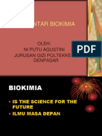 PERKEMBANGAN BIOKIMIA
