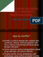Konflik Dalam Keluarga Menurut Perspektif Pekerjaan Sosial by Dr Herry Koswara
