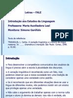 TRAVAGLIA L. Carlos. a Variacao Lingueistica e o Ensino de Lingua Materna