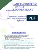 3.Diesel Power Plant