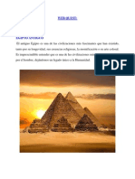 Webquest Egipto