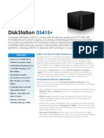 Synology DS415 Data Sheet Enu