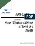 bizhub160_161fPartsManual