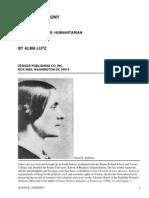 Susan B. AnthonyRebel, Crusader, Humanitarian by Lutz, Alma