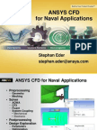 Ansys Cfd for Naval Applications