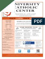 UCC Bulletin 9-14-2014