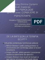 PSIHOTERAPIA SISTEMIC-STRATEGICA