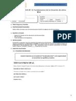 Guía de Práctica 3 - Fundamentos de La Creación de Sitios Web