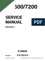 IR8500-7200 Service Manual
