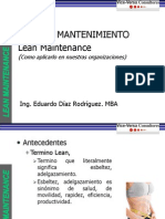 Eduardo Diaz Nueva Lean Maintenance