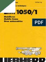 Liebherr LTM 1050-1 Data