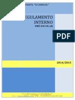 Regulamento Pré 2014 2015