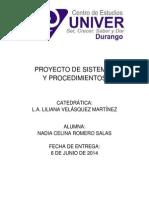 Proyecto de Sistemas y Proc