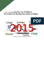 Web Hosting Top Ten Los 10 Mejores Proveedores de Hosting Para Alojar Tu Pagina