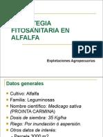 Estrategia Fitosanitaria de La Alfalfa