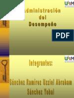 Administracion Del Desempeño-uziel,Tomas,Yobal