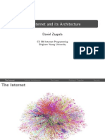 The Internet and Its Architecture