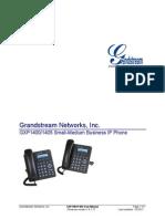 Gxp1405 Manual de Usuario