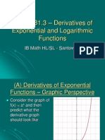 B1213 Exponential Logs