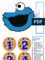 The Cookie Monster Cookie Gobble Game by Monica L Andersen