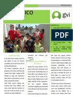 Newsletter GVI Mexico April-June 2014