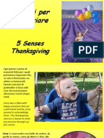5 Sensi Per Ringraziare - Five Senses Thanksgiving