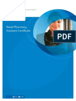 Retails Pharmacist Assistant Course Guide