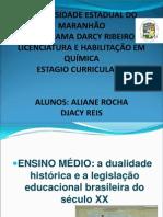 AULA +ESTAGIO+DUALIDADE