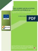 SAMI- Foro Nacional- Conclusiones