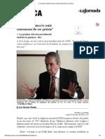 2014.03.10 Roque, A Zedillo nunca lo sentí convencido de ser priísta - La Jornada