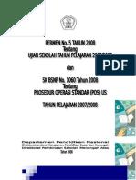 Cover Permen No. 5 Tahun 2008