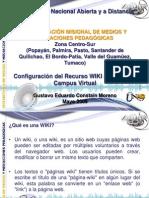 Instructivo Configurar Wiki