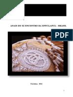 Anais Do Xi Encontro Da Epfclafcl-brasil