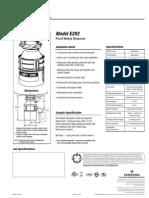 Evergrind E202 Spec Sheet
