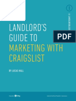 The Landlord's Guide to Craigslist Marketing