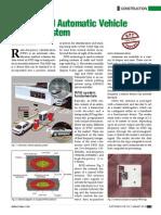 RFID Based Automatic Vehicle Parking System