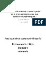5. Filosofía Antigua