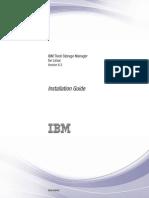 IBM Storage Manager for Linux - Installation Guilde