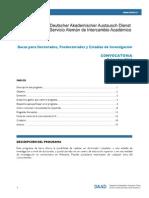 Daad Convocatoria Doctorados 2014